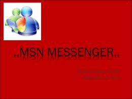 Vinchi - MSN - TICO