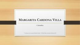 Margarita Cardona Villa