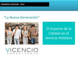 Generación - Hoteleros