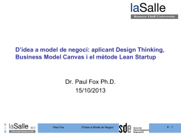 D`idea a model de negoci