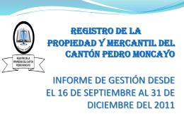 plan estratégico del registro de la propiedad y mercantil del cantón