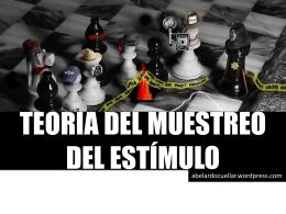 TEORÍA DEL MUESTREO DEL ESTÍMULO