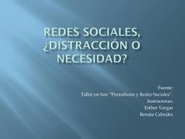 Redes sociales, ¿distracción o necesidad?