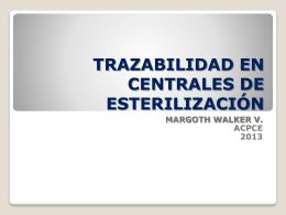 4 TRAZABILIDAD EN CENTRALES 2013