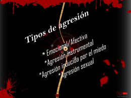1. como prevenir la agresividad 2.como afrontar la
