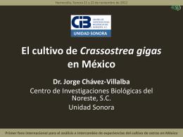 C.GIGAS EN MEXICO 1 - Comité de Sanidad Acuícola del
