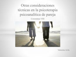 Presentación de corominas 8 - Principios de Psicoterapia