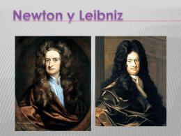 Newton y LeibniZ