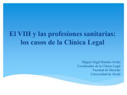 El VIH y las profesiones sanitarias: los casos de la Clínica