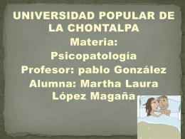 martha laura - psicopatologiaupch