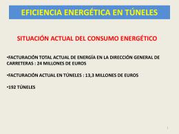 Eficiencia energética en túneles mayo 2013