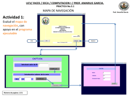 UCV/ FACES / EECA / COMPUTACION I / PROF. AMARILIS
