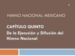 Himno Nacional Mexicano pres Alb