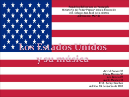 Música en los Estados Unidos de América