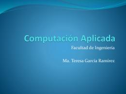 Computación Aplicada