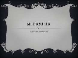 Mi Familia - WordPress.com