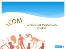 CONSEJO INTERNACIONAL DE MUSEOS