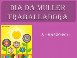 DIA DA MULLER TRABALLADORA