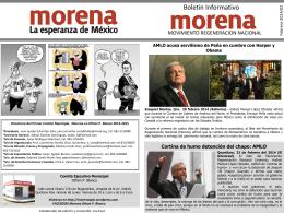 BOLETIN INFORMATIVO FEBRERO MORENA OPB
