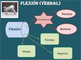 12 Flexión verbal – Tiempo
