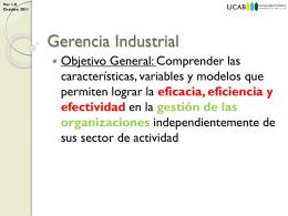 01 Evolución de la Actividad Industrial - Gerencia