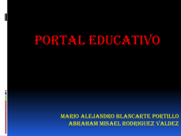 5.-Presentación portal educativo