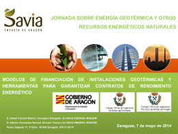 modelos de financiacion de instalaciones geotermicas y