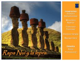 Rapa Nui y la lepra.