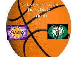 Celtics contra Lakers Devin Desir Espanol 1