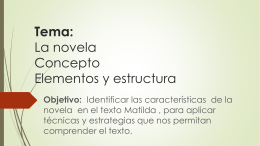 La novela - WordPress.com