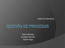 Gestión de procesos - INTRODUCCION A LOS SISTEMAS