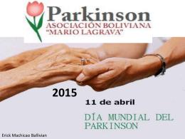 Día Mundial Parkinson - Parkinson Bolivia | Página de Inicio