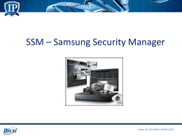 SSM * Samsung Security Manager
