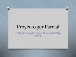 Proyecto 3er Parcial