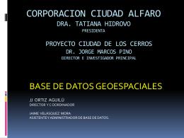 Juan José Ortiz - proyecto arqueológico Hojas