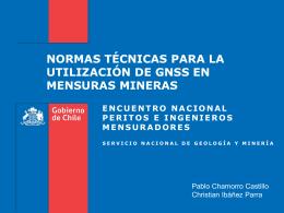 03- Norma GNSS en mensuras mineras