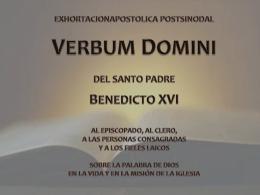 Verbum Domini Introducción