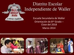 Inglés - Waller ISD