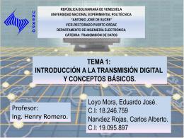 Multiplexión Digital - Sistemas de Comunicaciones Electrónicas y
