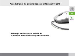 Agenda Digital eMexico SCT