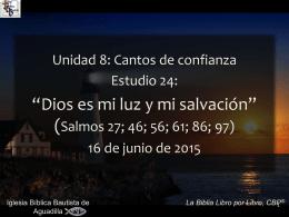 salmos - Iglesia Bíblica Bautista de Aguadilla