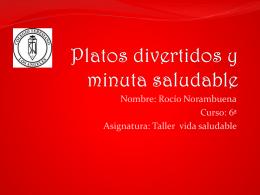rocio noram f platos saludables y minuta... 589KB Nov 10 2014 03