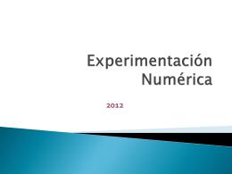 Diapositivas-Experimentacion