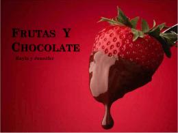 Fresas Chocolate