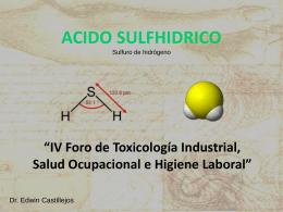 acido sulfhidrico