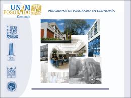 Organización del Posgrado en Economía