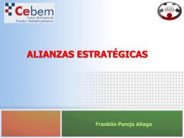 Alianzas Estratégicas - Programa de Desarrollo Local