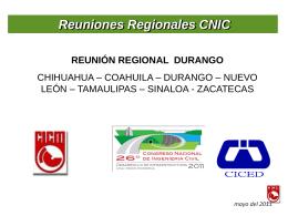 XXVI Congreso Nacional de Ingeniería Civil
