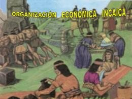 organización económica incaica