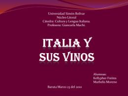 Italia y sus Vinos - Cultura